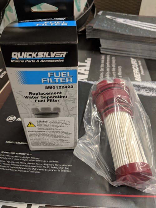 small resolution of home quicksilver quicksilver replacement water separating fuel filter 8m0122423