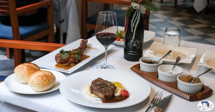 超浮誇戰斧豬排就在「轉角餐廳 Corner Steak House」,台南市東區美食