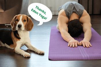 Thanks, Eden Yoga! 350x270