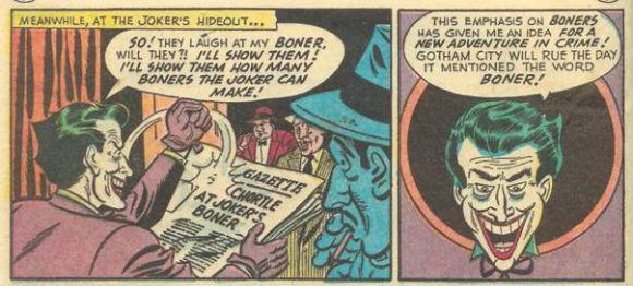 The Joker's Boner
