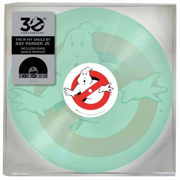 Ghostbusters Record Vinyl