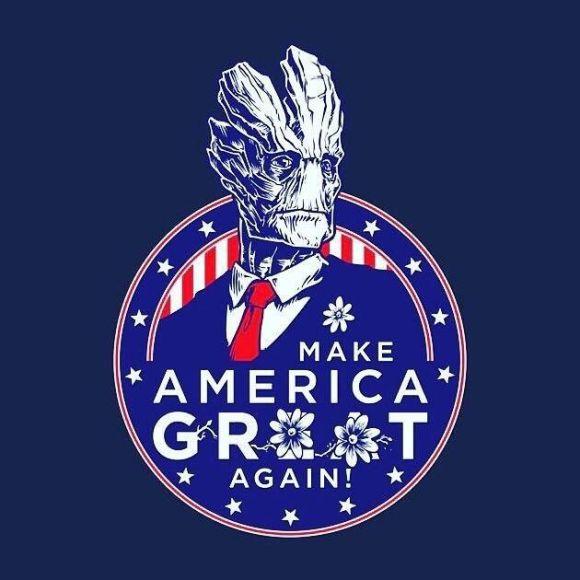 Make America Groot Again