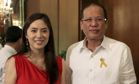Grace Lee at Noynoy Aquino