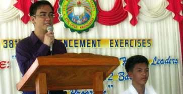 Commencement speaker