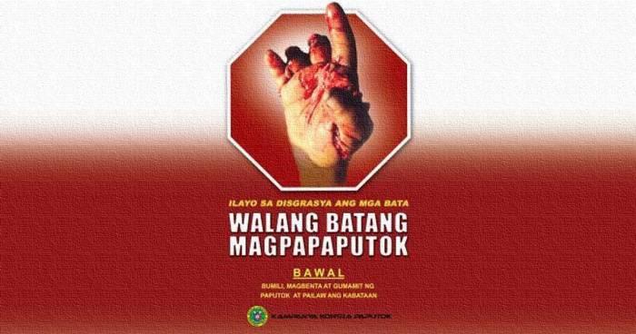 Kampanya Kontra Paputok ng DOH