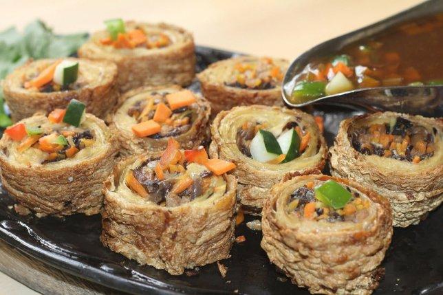 Daily Veggie n Cafe's Tao Pao Rolls (Sophia Lim)