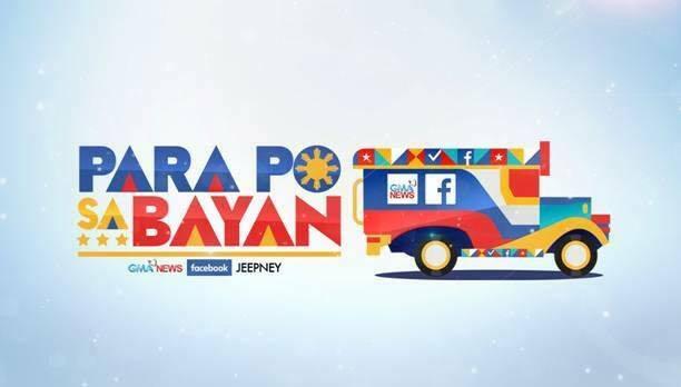 #ParaPoSaBayan: The GMA News-Facebook Jeepney