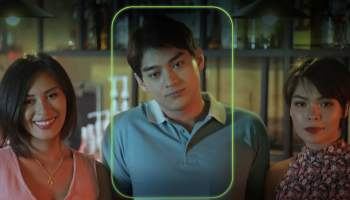 """Dionne Monsanto, Vance Larena, and Barbara Ruaro for Stories by PLDT-Smart's """"FindHer"""""""