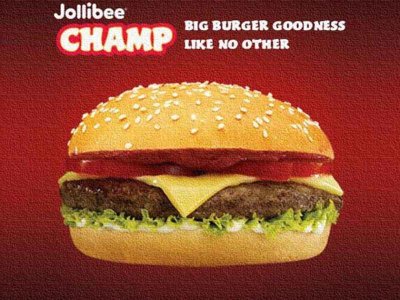 Jollibee Champ
