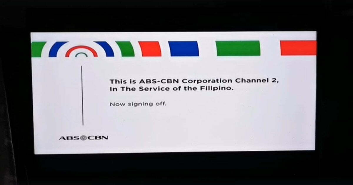 ABS-CBN signing off
