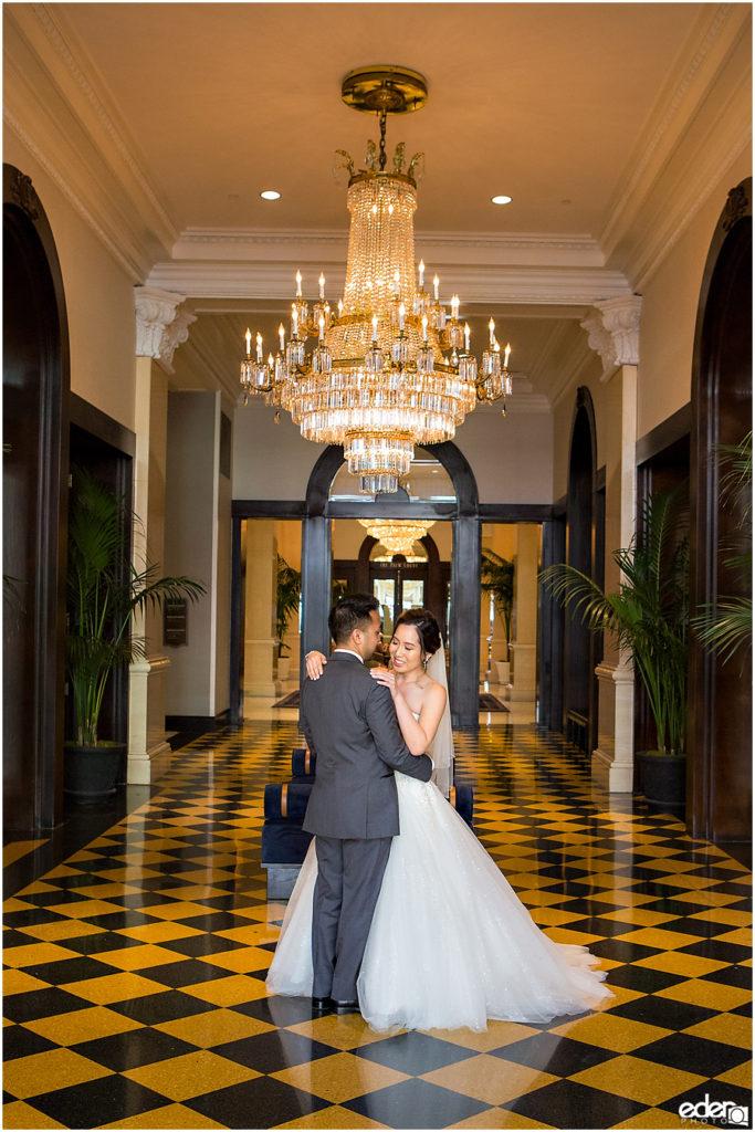 Wedding at The US Grant  San Diego CA  Eder Photo