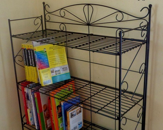 Lemari Rak Buku Jati  Furniture