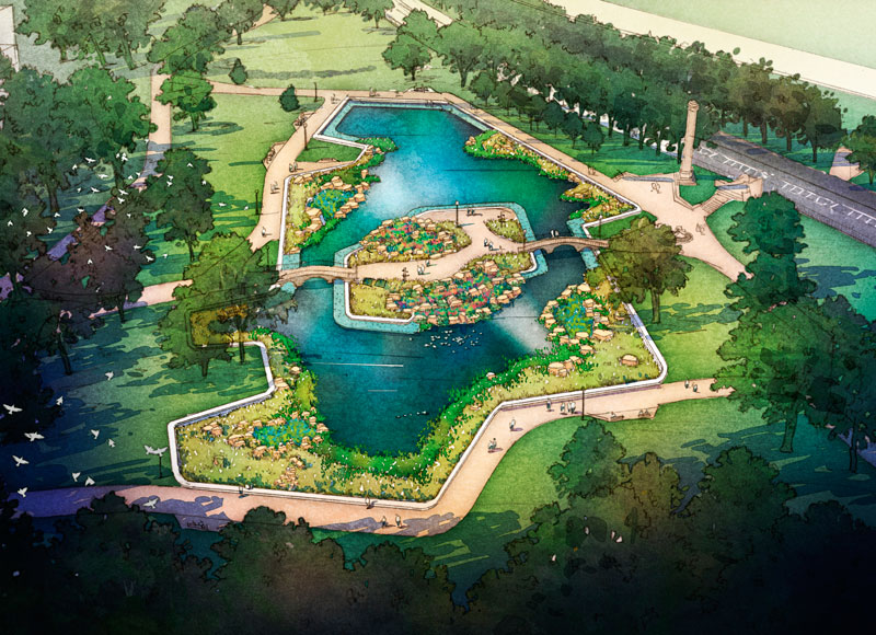 Stormwater Management Design : Allegheny commons stormwater management by edesign dynamics