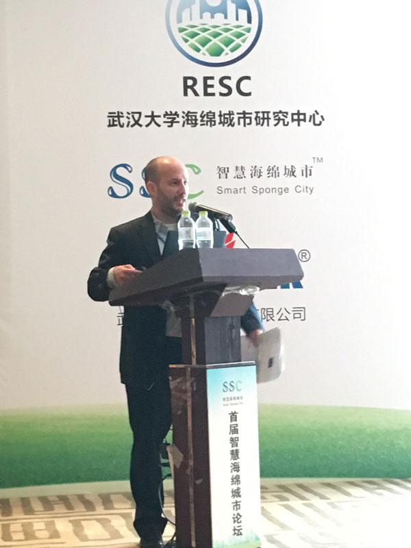 Smart Sponge City, China, Forum, 2016, Eric Rothstein, sustainable solutions, New York City, Green Infrastructure
