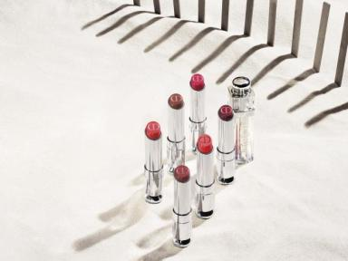 Lipstick infused with a second color