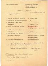 Birth Certificate István Édes 1741 (typed)