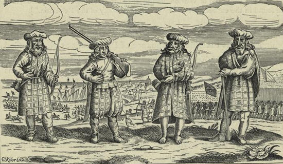 Scots mercenary soldiers in Germany, 1631.