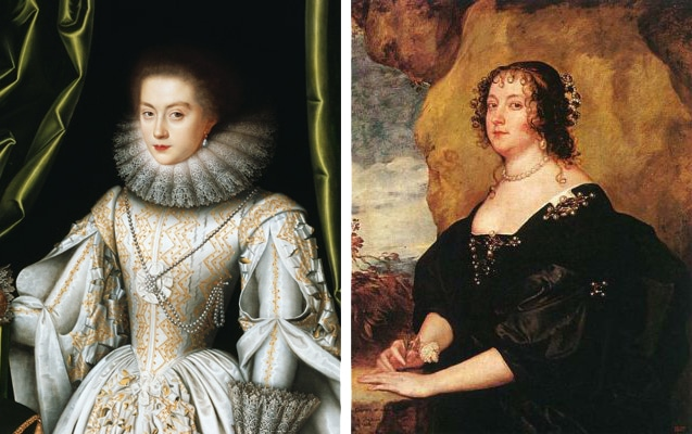Diana Cecil de Vere, paintings at age 18 and 42 - Exeter Cecil genealogy deVere Shakespeare