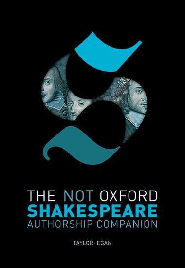 Not Oxford revised cover - Shakespeare Authorship Marlowe stylometry