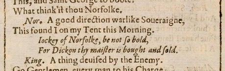 R3 FF quote Jockey of Norfolk - guide Howard dukes Norfolk