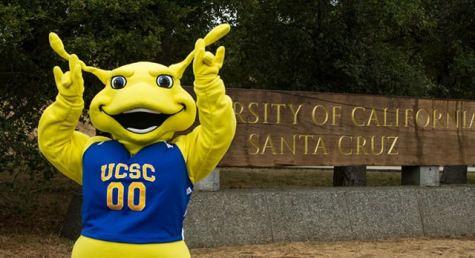 UCSC Banana Slug mascot - limerick story Jeff Shakespeare