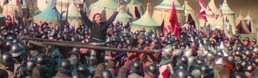 Banner - Olivier Henry V - StCrispin speech Harry revised