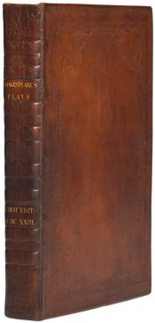Mills College First Folio exterior binding