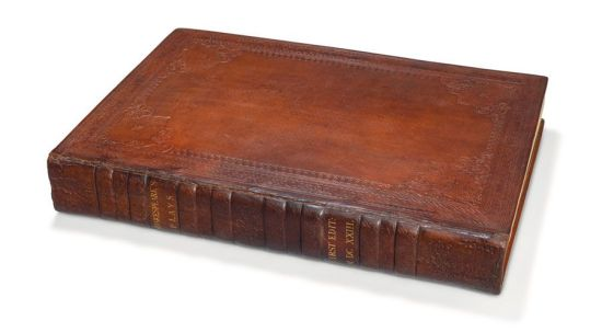 Mills College First Folio cover horizontal