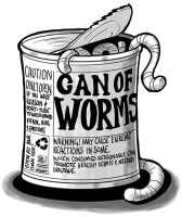 Can of worms - Poetry writing formal verse