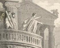 Cicero orating