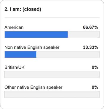 Verb ending poll question 2
