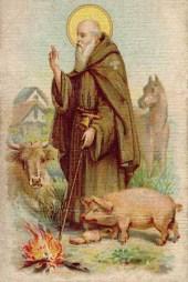 Saint Anthony the Abbot, patron saint of Venetian goldsmiths - deVere Hedingham ring auction