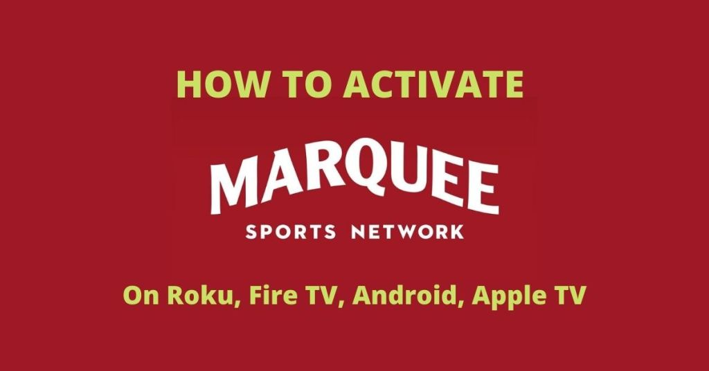 Activate Marquee Sports