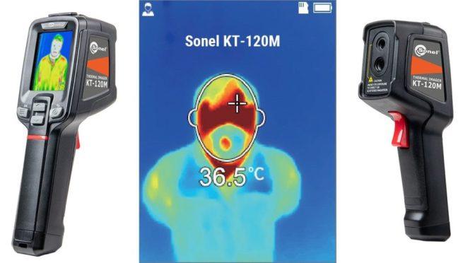Cámaras termográficas médicas Sonel KT-120M
