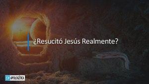 ¿Resucitó Jesús Realmente? | Pablo Santomauro | EDF Apologetica