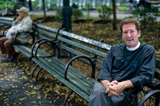 Lyndon Harris, a pastor in New York, builds 'Gardens of Forgiveness' around the world to help promote the power of reconciliation.