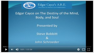 Edgar Cayce On Destiny of the Mind, Body, and Soul