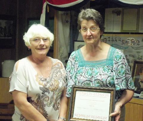 Edythe Stephens Award 2013
