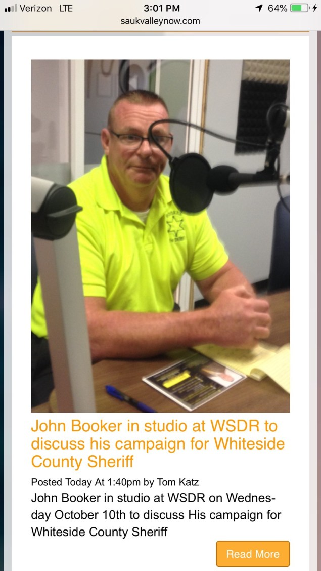 Booker in studio 2