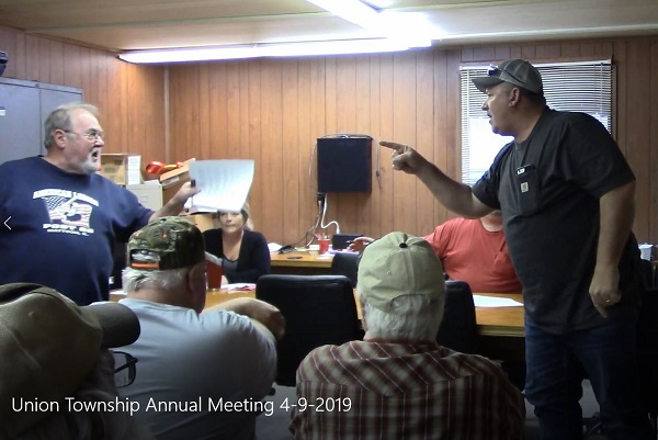 Union Township holds raucus Annual Town Meeting – | Illinois
