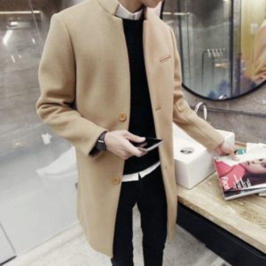 Long manteau homme mince