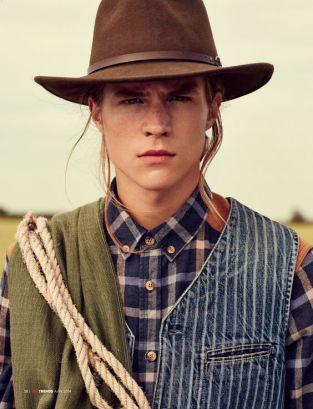 le chapeau de cow-boy pour homme style cow-boy