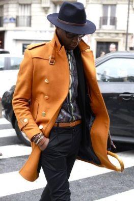 chapeau fedora marron pour homme
