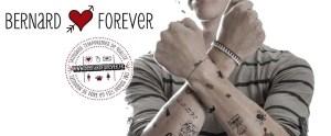 fête des pères tattoo éphémère Bernard Forever