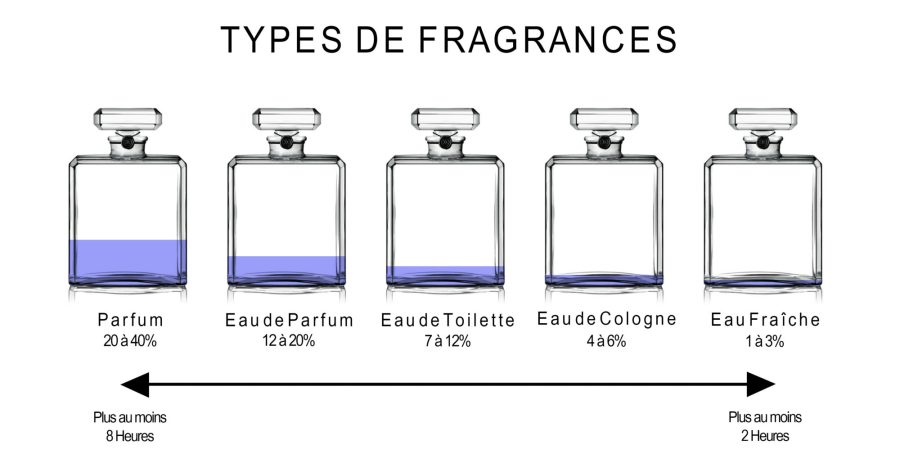 Comment choisir son parfum schéma types fragrances