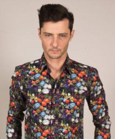 chemise fleurie homme pour petit budget