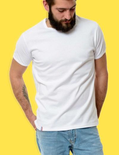 comment cartonner en t-shirt cet été t-shirt blanc coton bio propre
