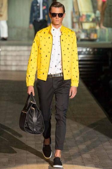 les couleurs à la mode cet été pour homme