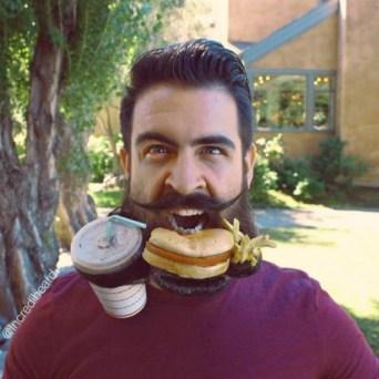 accélerer la pousse de la barbe avec une alimentation saine