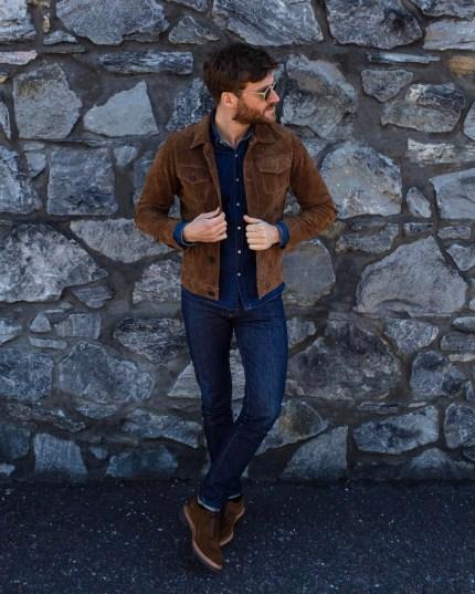 les essentiels du vestiaire masculin avec le jean brut pour homme